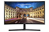Samsung C24F396 - Monitor Curvo de 24'' (Full HD, 4 ms, 60 Hz, FreeSync, Flicker-Free, LED, VA, 16:9, 3000:1, 1800R, 250 cd/m², HDMI, Base en V) Negro