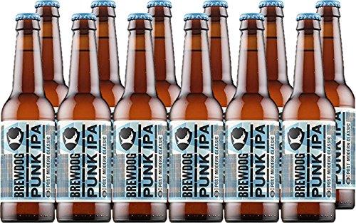 Brewdog Bière Punk Ipa 330 ml - Lot de 12