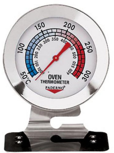 Paderno World Cuisine Stainless Steel Oven Thermometer