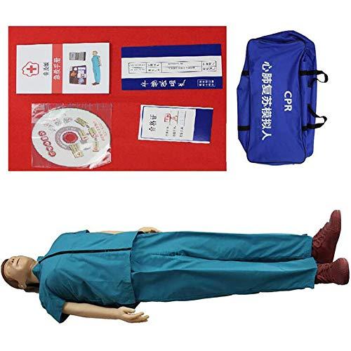 LHDQ Erwachsene Erste Hilfe CPR Trainingspuppe Übungspuppe, Kardiopulmonale Reanimation Simulator Zum Erste-Hilfe-Ausbildung Teaching