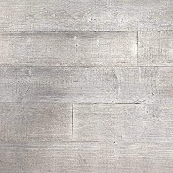 Art3d Peel and Stick Wood Planks for Walls - Light Gray 16 Sq Ft