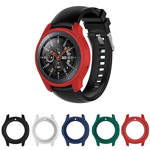 Case Capa Protetora para Samsung Gear S3 Frontier - Galaxy Watch bt 46mm - Vermelho - Marca Ltimports