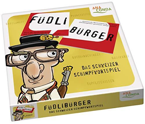 Füdlibürger - Das Schweizer Schimpfwortspiel
