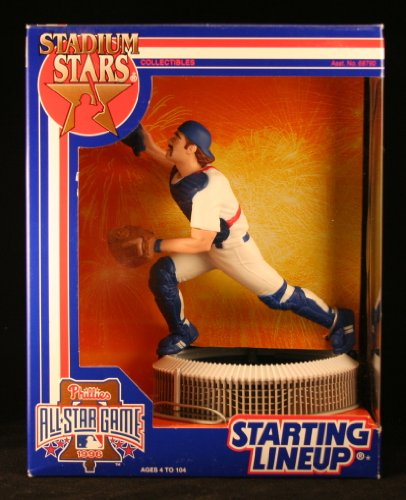 MIKE PIAZZA of the LOS ANGELES DODGERS Starting Lineup Stadium Stars Phillies...