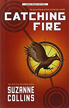 Paperback Catching Fire (Hunger Games) [Large Print] Book