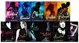 House of Night Series Collection 11 Books Set (Revealed, Destined, Awakened, Burned, Tempted, Marked, Chosen, Untamed, Betrayed, Hunted)