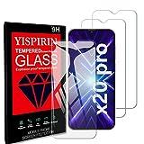 YISPIRIN [3Piezas] Cristal Templado para Cubot X20 Pro, Dureza 9H, Anti - arañazos Anti-Rasguño,Fácil de instalar, Vidrio Templado Protector de Pantalla para Cubot X20 Pro