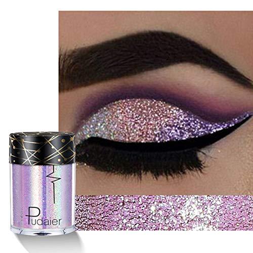 TO TO Glitter Glitter Lidschatten Power, Lose Pigmente, Lose Lidschatten, Hochpigmentierter...