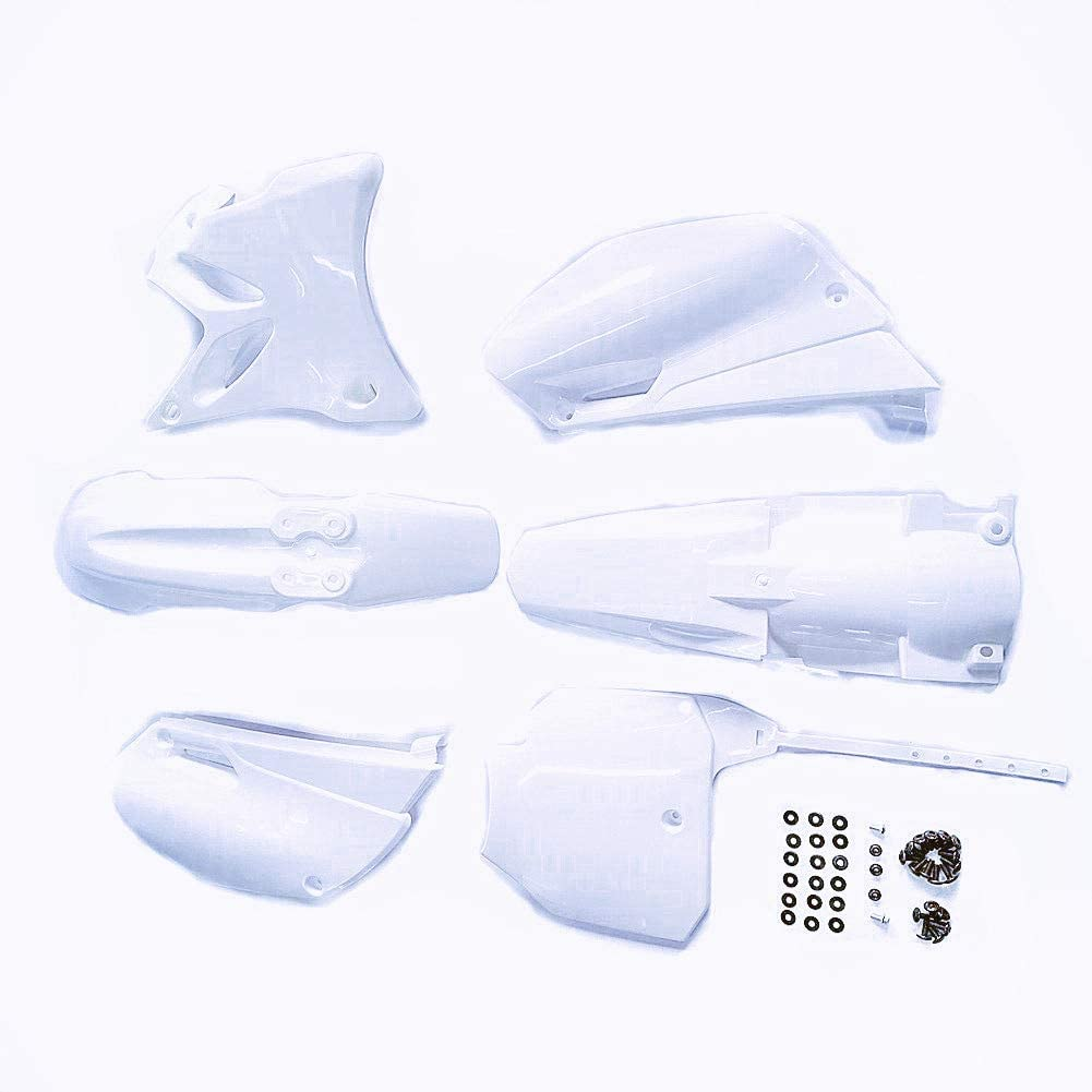 Regular discount Max 59% OFF hongyu YZ85 White Plastic Body for Pit Fender Kit 2002-2014
