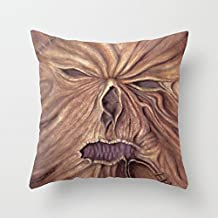 QHTYY Necronomicon Ash Vs. Evil Dead (Watercolor Painting) Monster Pillowcase (Two Side) Unique Home Decor For Sofa/Bed/Chair/Auto Size: Approx.16 16
