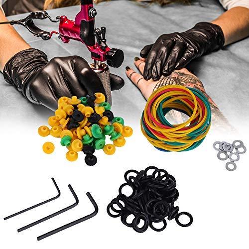 Tattoo machine rubberen bandjes pin, tattoo coil kit