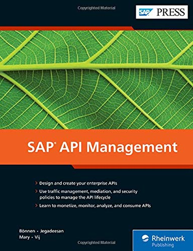 SAP API Management (SAP PRESS: englisch)