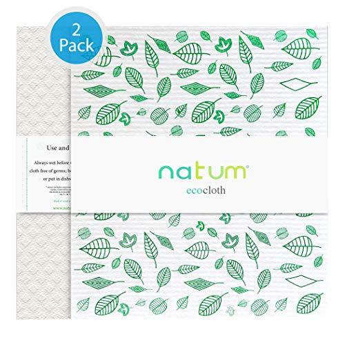 Natum ecocloth™ XL | Bayetas ecológicas antibacterianas | Paños Reutilizables de 70%...