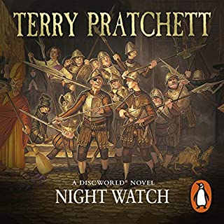 Night Watch                   By:                                                                                                                                 Terry Pratchett                               Narrated by:                                                                                                                                 Stephen Briggs                      Length: 10 hrs and 40 mins     2,485 ratings     Overall 4.9