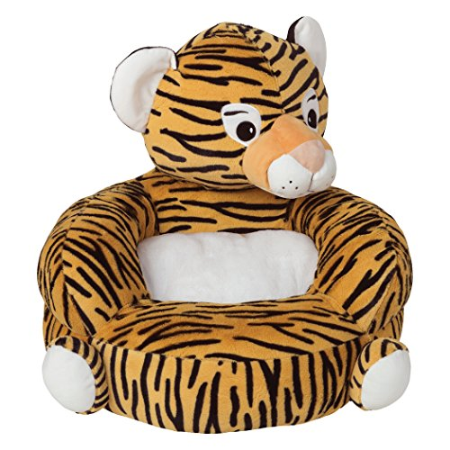 adorable plush tiger chair for toddlers