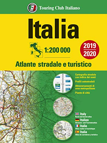 Italia. Atlante stradale e turistico. 1:200.000