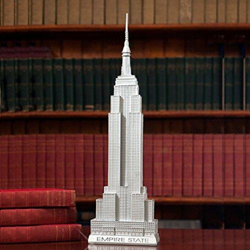 City-Souvenirs Empire State Building Statue 20 Inch 80th Anniversary Scaled Replica