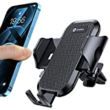 Andobil Car Phone Mount Ultimate Smartphone Car Air Vent Holder Easy Clamp Hands-Free Compatible with iPhone 12/12 Pro/11 Pro Max/8 Plus/8/X/XR/XS/SE Samsung Galaxy S20/S20+/S10/S9/Note 20, Black