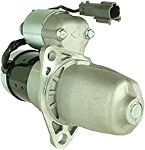 DB Electrical SHI0138 New Starter For Infiniti, Nissan Truck I30, Maxima 2000 2001 00 01 W 3.0L 3.0 Engine 410-44096 23300-2Y900 STR-3306 2-2062-HI S114-801D