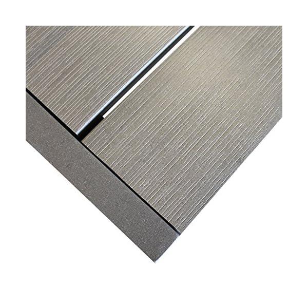 Multistore 2002 7tlg. Sitzgruppe Gartengarnitur Gartenmöbel Terrassenmöbel Set Sitzgarnitur Aluminium Polywood Tisch…