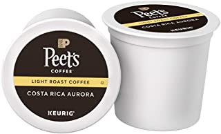 Peet's Coffee Costa Rica Aurora Light Roast Coffee K-Cup Coffee Pods (10 Count)