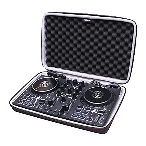 LTGEM EVA - Estuche de almacenamiento duro para Numark Party Mix II o Numark Party Mix - Controlador de DJ/Native Instruments Maschine Mikro Mk3 Drum Controller
