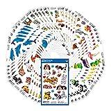 AVERY Zweckform 485 Sticker für Kinder (Aufkleber Kinder, Jungen, Mädchen, Tiere, Kindersticker, Hunde, Katze, Panda, Vögel, Pferde, Delfine, Fische, Kindergeburtstag, Mitgebsel,...