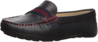 Driver Club USA Women's Leather Made in Brazil Grow Gain Ribbon Detail Driver Moc Loafer