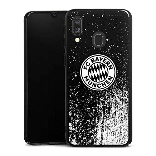 DeinDesign Hard Case kompatibel mit Samsung Galaxy A40 Schutzhülle schwarz Smartphone Backcover FCB Offizielles Lizenzprodukt FC Bayern München