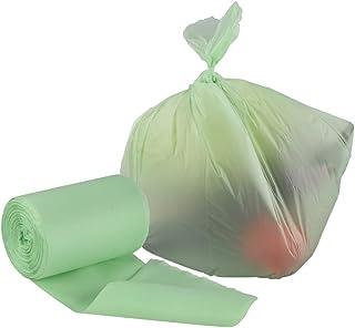 Xersex 100 Sacchetti della Spazzatura Pattumiera Organico Biodegradabili e Compostabili Sacchetti di Immondizia 12 Litri Sacchetti Contenitore Rifiuti