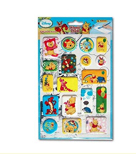 Naklejki puffy stickers activity Winnie the Pooh