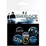 GB eye LTD, Sherlock, Mix, Pack de Chapas