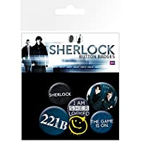 SHERLOCK シャーロック バッジセット / Sherlock Mix