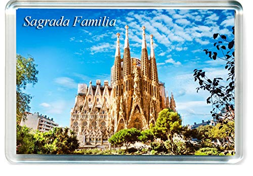 I041 Sagrada Familia Barcelona Imán para Nevera Spain Travel Fridge Magnet