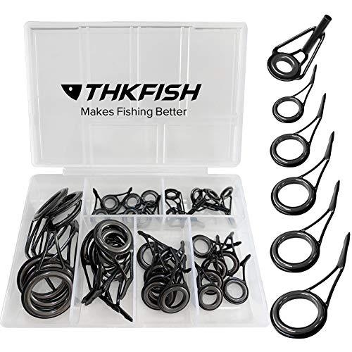 thkfish - Kit de reparación de varillas para caña de pescar (35...