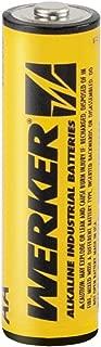 WERKER - WKAAB - Industrial Alkaline - AA Batteries - 8 Pack