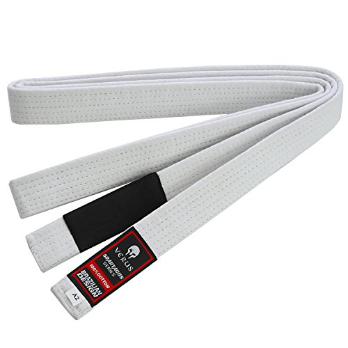 Verus Brazilian Jiu Jitsu Belts (White, A2)