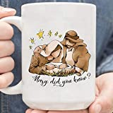 Mary Did You Know Nativity Leopard Gift, Christ-mas Nativity