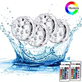 Haofy Luce Subacquea Ip68 Impermeabile Rgb Multi Led Cambiacolore, Versione Immersione Led...