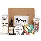 Geschenkbox für Frauen, Kirschblüten-Spa-Geschenkbox für Frauen, Spa-Geschenksets für Damen mit...