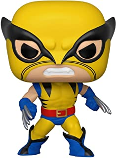 ¡Papá! Marvel 80th- First Appearance- Wolverine, Funko 44155 POP. Bobble Marvel: Figura coleccionable de lobo de primera apariencia, multicolor, Multicolor