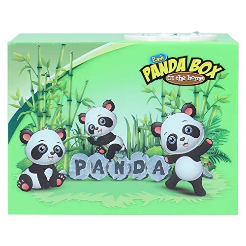 Spaarpot, geld besparen ABS Panda Piggy Bank Animal Piggy Bank, schattig bureau Home-tafel voor kinderen