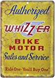 Adkult Whizzer Bicycle Motor Vintage Dealer Sign 10' x 7' Reproduction Metal Sign B280