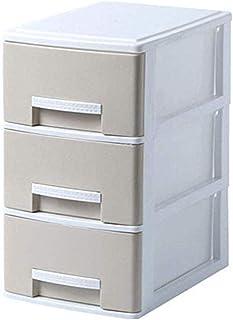 Cabinet de classement, magazines Diviseurs 3 tiroirs Dortoir Dortoir Armoire Armoire Vêtements Boîte de rangement En plast...