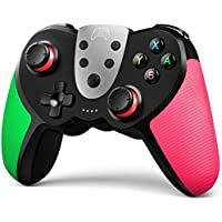 Terios Wireless Controller for Nintendo Switch (Green & Pink)