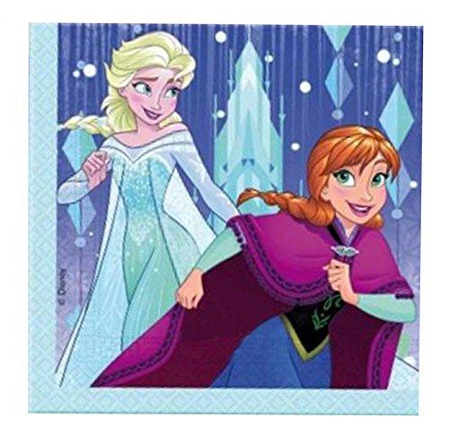 Procos 87899 Frozen Snowflakes - Servilletas, talla única