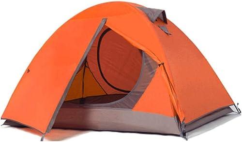 Ellyeall Anti Tente De Camping UV Tente, Léger Deux Porte De Tente De Randonnée, Double Imperméable De Tente De Plage, pour Le Camping en Plein Air Randonnée Voyage