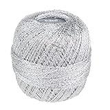 Glitter Gründl Wolle Häkelgarn 25 g Farbe 8202