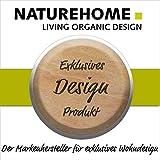 NATUREHOME Olivenholz Seifenschale S natürliche Hartholz Schale eckig Seifenhalter Seifenablage Holzschale Bad Küche Waschbecken 13x8,5x1,5 cm - 3