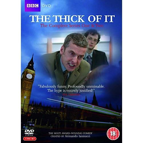 The Thick Of It - Season 1&2 (2 Dvd) [Edizione: Regno Unito] [Edizione: Regno Unito]